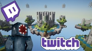 watch the youtube video Minecraft - Cloudy Combat - Twitch Highlights!
