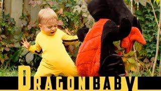 תינוק נגד דרקון