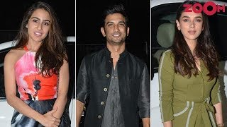 Sushant Singh Rajput, Sara Ali Khan, Aditi & others attend Namrata Purohit's music video launch - ZOOMDEKHO