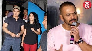 Daughter Ira Is Upset With Aamir's Smoking Habit | Rohit Shetty On 'Dilwale's Average Performance - ZOOMDEKHO