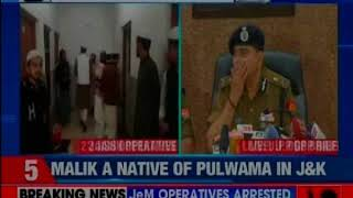 UP Police briefs media after busting terror module in Saharanpur; arrested 2 JeM operatives - NEWSXLIVE