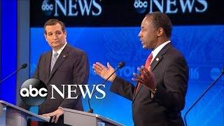 Ben Carson, Ted Cruz Respond to Iowa Voting Scandal - ABCNEWS
