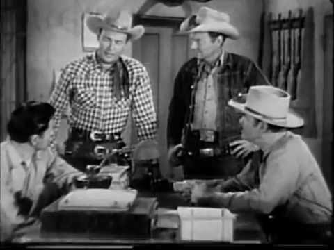 The Roy Rogers Show OUTLAWS TOWN full length episode