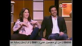 إيمي سمير غانم: ضرب حسن الرداد لي كان حقيقيا وتم استغلاله في فيلم