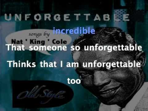 Nat King Cole - Unforgettable (Remastered 2011) Old Style lyrics Testo