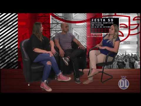Entrevista com a atriz Ludmilla Corrêa e o diretor Plínio Augusto