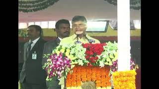 CM Chandrababu Naidu Speech at 72 Independence Day Celebrations | Srikakulam | iNews - INEWS