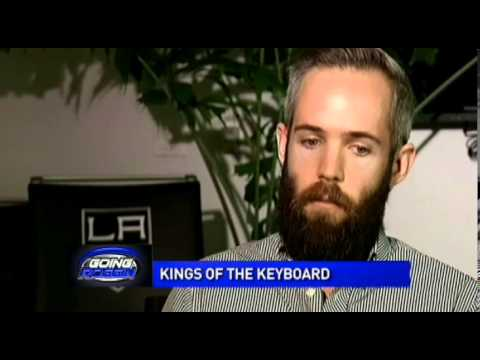 The LA Kings Twitter featured on NBC LA's