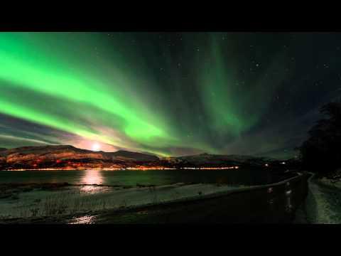Predivno nebo nad Norveškom