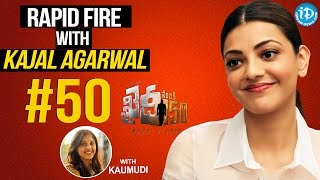 #50 With Kaumudi - Few Things About Kajal Aggarwal || #Khaidino150 || Talking Movies With iDream - IDREAMMOVIES