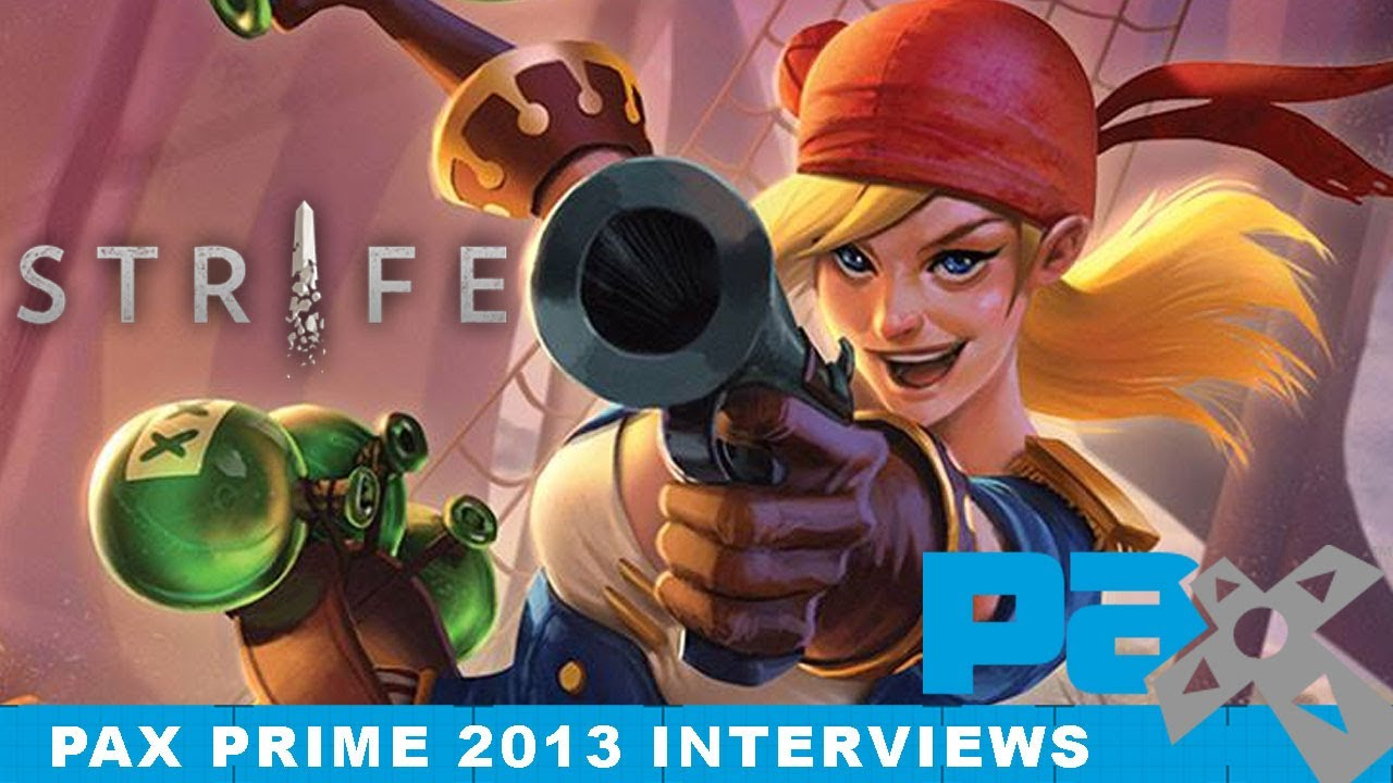 What Is STRIFE? - PAX Prime 2013