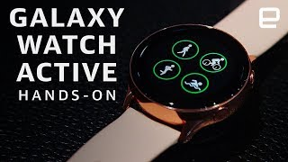 Samsung Galaxy Watch Active hands-on: Ready for the gym - ENGADGET