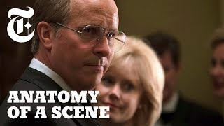 How Christian Bale Uses Silence to Speak Volumes in 'Vice' | Anatomy of a Scene - THENEWYORKTIMES