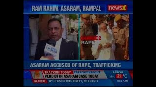 Rape case verdict to be delivered by Jodhpur Court today,  Asaram, guilty or acquitted - NEWSXLIVE