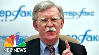 John Bolton: INF Treaty 'Outmoded, Being Violated And Being Ignored' | NBC News - NBCNEWS