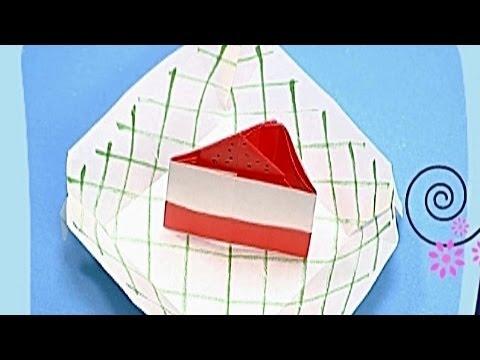 Çocuklar İçin Origami Cake (Öğretici) – Kağıttan Arkadaşlar 08
