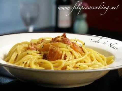 Spaghetti alla Carbonara -1swBaqR2yMY