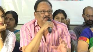 Jayasudha Panel Press Meet - MAA 2015 Elections - idlebrain.com - IDLEBRAINLIVE