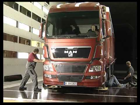 MAN TGX Truck Wind Tunnel