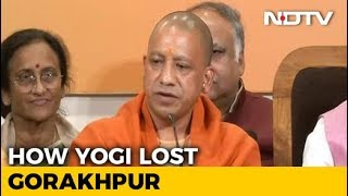 How Yogi Adityanath's Citadel Fell: Decoding BJP's Gorakhpur Bypoll Loss - NDTV