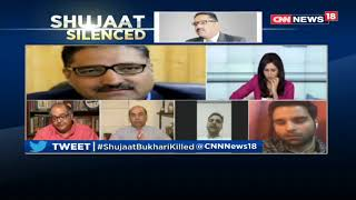 Epicentre | Big Break Through In Shujaat Murder Case | Killing Scribe Equals To 'Azaadi'| CNN News18 - IBNLIVE