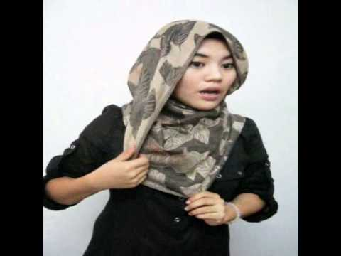 Cara Pakai Pashmina - Colourful Collections