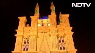 दुर्गा पूजा पंडालों में ऐतिहासिक इमारतें - NDTVINDIA