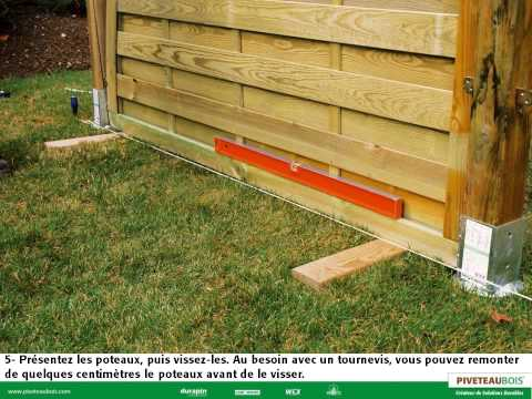 Montage et astuces pour poser un panneau en bois - PIVETEAUBOIS