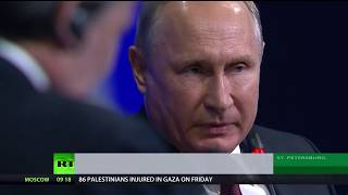 Putin: 'Europe depends on US for defense. Don't worry about it – we will help' - RUSSIATODAY