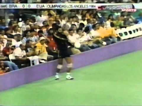 '84 Men's Olympic Volleyball: USA vs Brazil Game 1