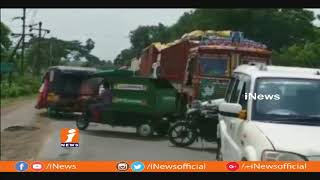 Farmers Protest At Power Substation In Eluru | iNews - INEWS