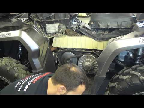 Can-am BRP outlander renegade Gen 2 2012+ clutch disassembly