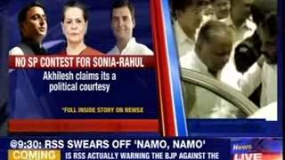 Samajwadi Party gives Rahul-Sonia walkover in Amethi & Bareilly - NEWSXLIVE