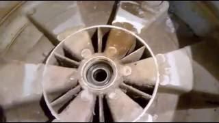 Ремонт стиральной машины Zanussi (Занусси) заменить подшипники