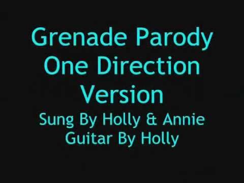 Grenade Parody - One Direction Version