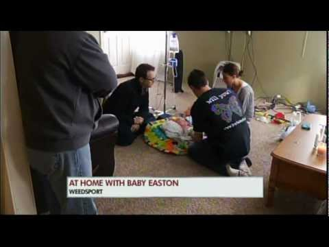 WTVH CBS5 BABY EASTON AIRCHECK