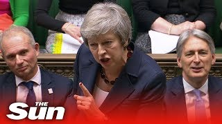 Theresa May issues Brexit statement in Commons | Brexit LIVE - THESUNNEWSPAPER