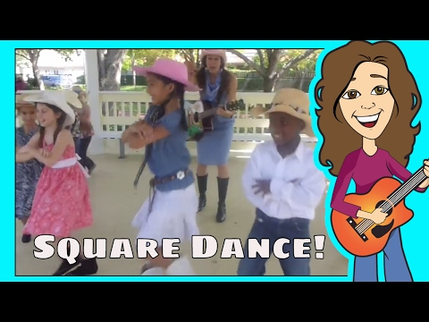 Kids Song - Do-Si-Do Square Dance
