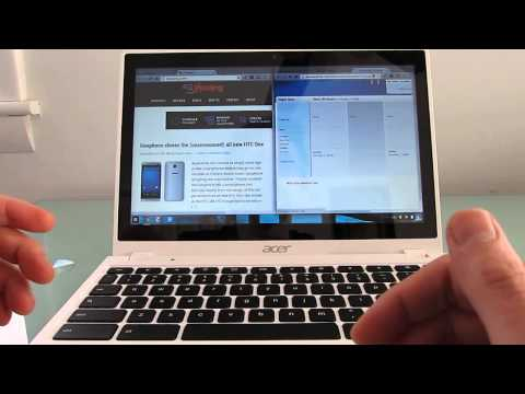 Acer C720p touchscreen Chromebook review