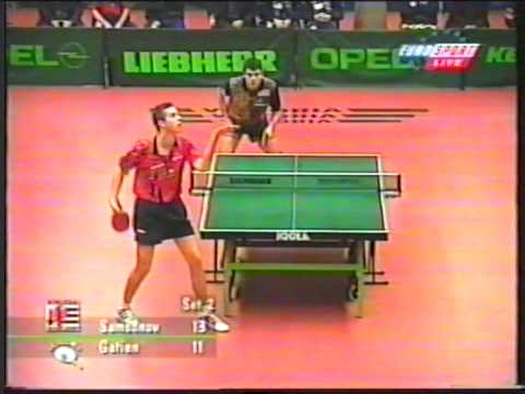Vladimir Samsonov vs Jean-Philippe Gatien 1999-11-08 HIGHLIGHTS