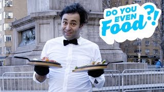 Delivering Sizzling Fajitas to Strangers in New York City | Food Network - FOODNETWORKTV