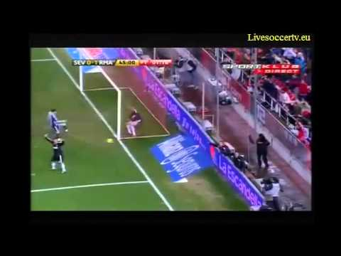 HQ Sevilla vs Real Madrid (0-1) All Goals & Full Highlights 2011 Sevilla 0-1 Real Madrid