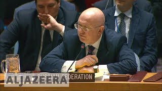 Russia blocks bid to probe Syria's chemical weapons use - ALJAZEERAENGLISH
