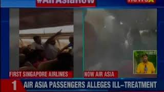 Kolkata-Bagdogra Air Asia flight  grounded for over 4 hour, Passenger complains of ill treatment - NEWSXLIVE