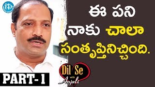 Sr Journalist & T-SAT CEO R Shailesh Reddy Exclusive Interview  Part #1|| Dil Se With Anjali - IDREAMMOVIES