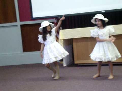 geeta khanal teach nepali dance.MPG