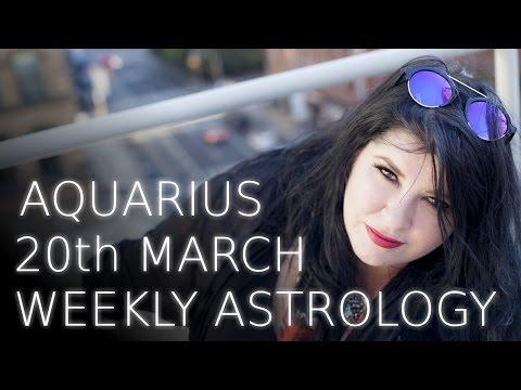 Aquarius Weekly Astrology Forecast 20th March 2017