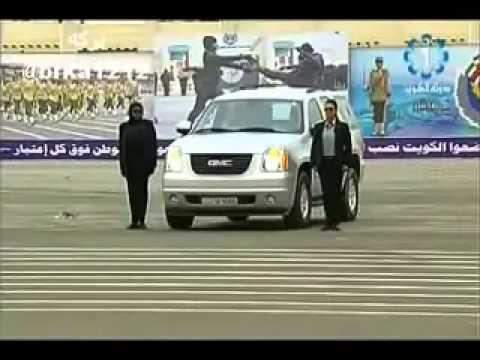 عرض الشرطة النسائية الكويتية في ادارة القيادة الوقائية واعمال حماية الشخصيات النسائية سناب alii77881