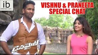 Vishnu & Praneeta Special Chit Chat