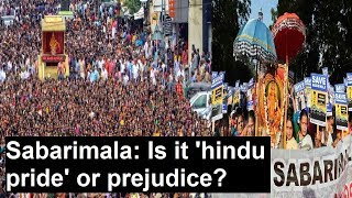 #Sabarimala Temple issue: Massive protest in Kerala capital, Is it 'hindu pride' or prejudice? - NEWSXLIVE